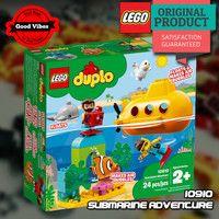 LEGO 10910 Submarine Adventure DUPLO Mainan Kapal Selam Anak Original #thekingbricks #theking #thekingid #kingbricks #gvonline #uhappyihappy #tokolegoterpercaya #tokomainanoriginal #lego10910 Lego Duplo Sets, Lego City, Lego Star Wars, Avengers, Adventure, Toys, Activity Toys, Clearance Toys, The Avengers