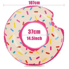 DMAR Inflatable Donut Swimming Ring Giant Pool Float Swimming Circle Toys Beach Sea Summer Inflatable Mattress Adult 2017 NEW
