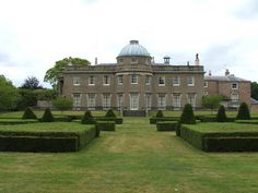 Scampston Hall, Malton, Yorkshire - Bought by the St Quintin family towards the end of the 17th Century & has remained in the family ever since. The first house was built around 1700 & was remodelled to a design by Thomas Leverton in 1795-1800. This is the house as you see it today, with its magnificent Regency interiors & art collection. The House was redecorated internally in 1860 & again in 1910.