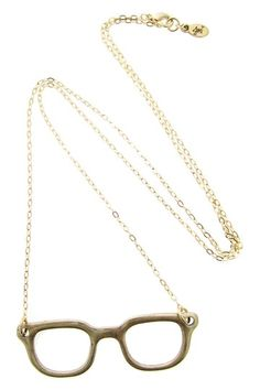Cool Glasses Necklace