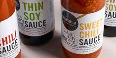 Shangrila sauce labels