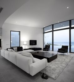 Great Idea Luxury House Designs for your Dog wall decor Modern Home - Design DCA This is a pretty cool living room, or it could possibly eve. Room Design, Contemporary Home Decor, Interior Design, Minimalist Living Room Decor, Modern House Design, Home, Contemporary House, Luxury House Designs, Minimalist Living Room Design