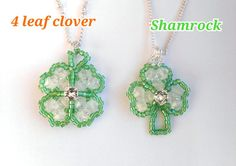 Check out this item in my Etsy shop https://www.etsy.com/ie/listing/257092659/shamrock-necklace-4-leaf-clover-necklace
