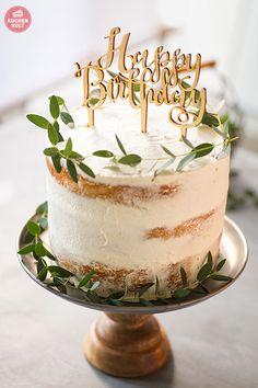 Cake birthday simple recipe