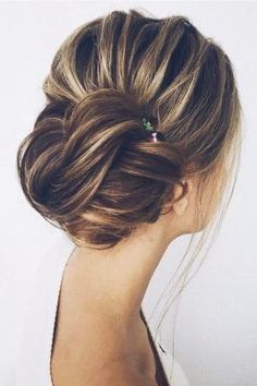pretty updo wedding hairstyles by kenya