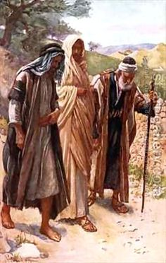 Harold Copping:The walk to Emmaus