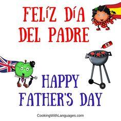 Today is Father's Day in Spain ... Hoy es el Día del Padre en España ...