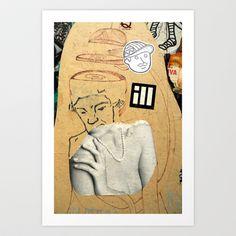 Sliced head Art Print by Plasmodi - $16.00 Photo Art, Street Art, Art Prints, Art Impressions, Fine Art Prints, Art Print