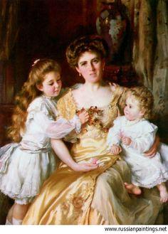 'A Mothers Love'   Kennington Thomas Benjamin