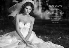 BIEN SAVVY te asteapta la Mariage Fest cu rochii de vis, vouchere cadou si concert Andreea Runceanu!