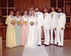 1975 Diane's wedding