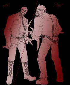 My Bloody Valentine, Harry Warden, Horror Characters, Pixiv (Credits for the Artist)
