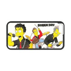 The simpson Green day Cartoon apple iphone 6 case cover