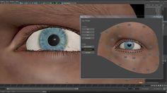 Realistic Eye #rig #maya