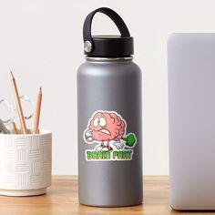 """Brain Fart"" Sticker by arendbotha | Redbubble Sticker Design, Brain, Studios, Finding Yourself, Stickers, Bottle, The Brain, Flask, Studio"