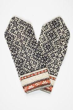 Mittens Pattern, Knit Mittens, Knitted Gloves, Knitting Socks, Hand Knitting, Knitting Patterns, How To Purl Knit, Fair Isle Knitting, Knit Crochet