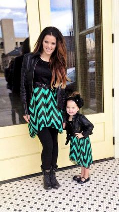 """""""Just like Mommy"""" Jade, and True Dress (Sizes 6 Months to Women's 3XL Available) - Be Inspired Boutique"""