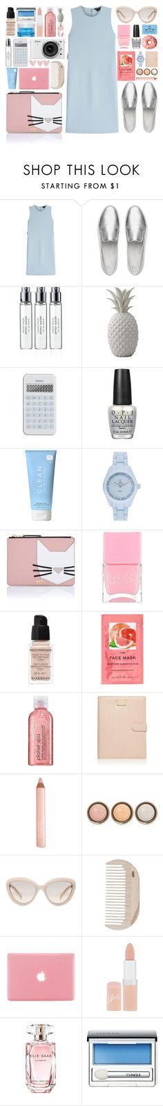 """""""x y z"""" by laurasuursepp ❤ liked on Polyvore featuring Theory, FitFlop, Byredo, Bloomingville, Nikon, OPI, CASSETTE, CLEAN, Toy Watch and Karl Lagerfeld"""