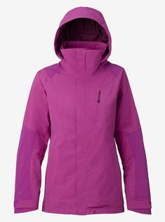Women's Burton [ak] GORE‑TEX® 2L Embark Jacket shown in Grapeseed