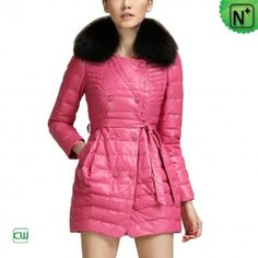 Women Leather Down Coat  CW681158 ❤ Design For Valentine's Day - m.cwmalls.com