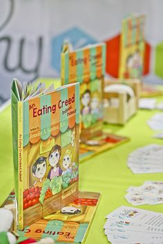 Dr. Gardner's children's book promoting healthy eating, An Eating Creed Indeed, Indeed!