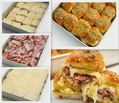 Hawaiian Roll Sandwiches
