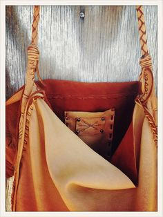 <<< Bandelier >>> deerskin bag by Three Arrows Leather