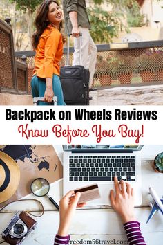 The perfect backpack on wheels will make your travel adventures better! Whether for men, women or kids, a wheeled backpack product can hold your laptop and all your travel essentials with ease. Learn the secrets to choosing the best travel backpack fo Best Travel Backpack, Travel Packing, Travel Tips, Travel Hacks, Time Travel, Europe Packing, Traveling Europe, Travel Info, Usa Travel