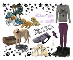 """""""Dog!!!!"""" by edin-levic ❤ liked on Polyvore featuring art"""