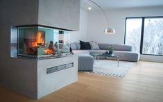 rentbrennende – EKTE VARME Fireplace Inserts, Couch, Interior Design, Furniture, Home Decor, Image, Art, Fireplace Set, Modern