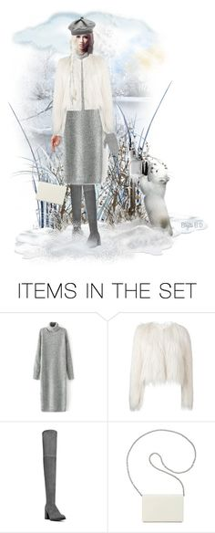 """Winter Doll"" by birgitte-b-d ❤ liked on Polyvore featuring art, Winter, contest and snow"