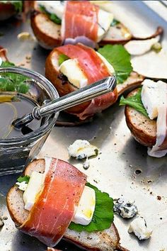 1000 images about canapes gourmet on pinterest canapes for Gourmet canape ideas