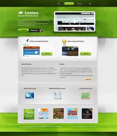 green web design - #web #design