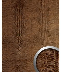 Wall panel Iguana leather look WallFace 19777 Antigrav LEGUAN Copper smooth design panelling leather look matt copper copper brown Leather Wall Panels, Pvc Panels, Copper Wall, Decorative Panels, Copper Color, Leather Design, Wall Design, Wall Decor, House Styles