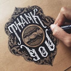 Work by @alfonsusabim #graphics #lettering #typography