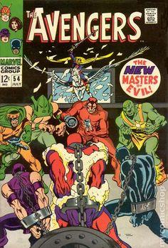 Avengers 54 Key Silver Age Marvel John Buscema New Masters of Evil Ultron