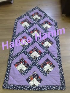 Seccade Bargello, Small Quilts, Baby Quilts, Table Runners, Elsa, Diy And Crafts, Projects To Try, Patches, Lily