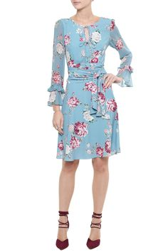 Vestido Crepe Floral Audrey Saree Dress, I Dress, Beautiful Outfits, Cool Outfits, Dresses For Work, Formal Dresses, Western Dresses, Work Fashion, Passion For Fashion