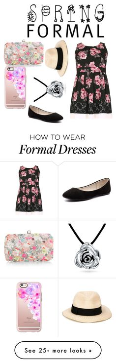 """""""Spring Formal"""" by lanah13 on Polyvore featuring Samya, Accessorize, Casetify, Eugenia Kim, Verali and Bling Jewelry"""