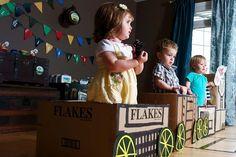 Vintage train party
