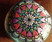 Garden mandala stone, extra large