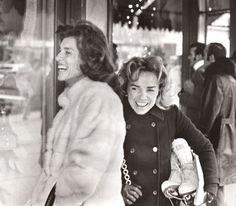 Eunice Kennedy Shriver and Ethel Skakel Kennedy