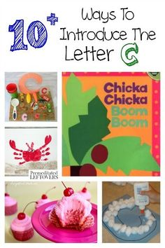 10 ways to introduce the letter C to your child through fun activities, crafts,