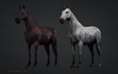 ArtStation - Yorkshire Horse, Hisae 'Jo' Watanabe