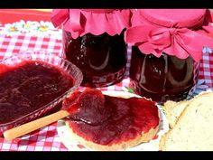 Marmelada od jagoda - VIDEO - Homemade Strawberry Jam Recipe - YouTube Homemade Strawberry Jam, Strawberry Jam Recipe, Jam Recipes, Chocolate Fondue, Pudding, Make It Yourself, Breakfast, Desserts, Food