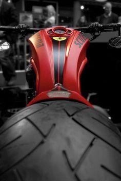 ಞ Passion in Red ಞ : Photo Vrod Custom, Custom Harleys, Custom Motorcycles, Cars And Motorcycles, Concept Motorcycles, Custom Choppers, Custom Street Bikes, Custom Bikes, Ferrari Bike