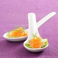 Découvrez la recette Tartare aux deux saumons sur cuisineactuelle.fr.