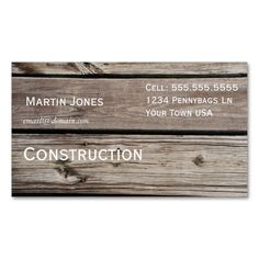 Wood Business Card. This is a fully customizable business card and available on several paper types for your needs. You can upload your own image or use the image as is. Just click this template to get started!