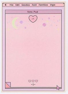 Aesthetic Pastel Wallpaper, Aesthetic Wallpapers, Memo Notepad, Note Doodles, Instagram Frame, Journal Stickers, Kawaii Wallpaper, Aesthetic Stickers, Kawaii Drawings