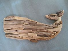 Driftwood Whale - As Seen in HGTV Magazine - Made to Order - Upcycled Beach Decor, Beach House, Beach, Whale, Nautical, Distressed Wood